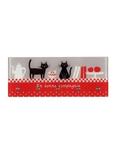 Desol Kedi Desenli Mutfak Askısı-Dünya Style